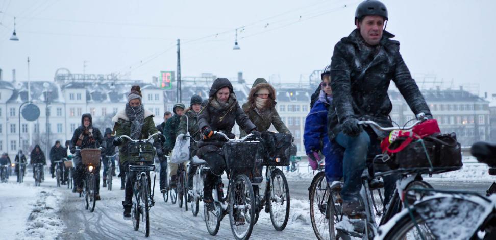cykel vinter