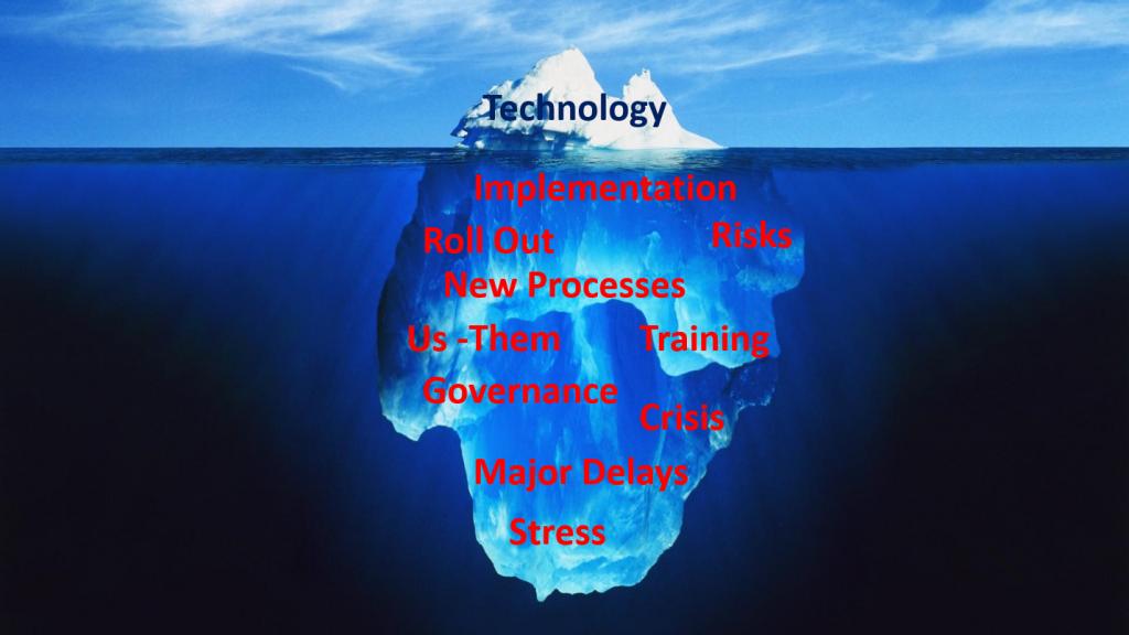 tip of iceberg